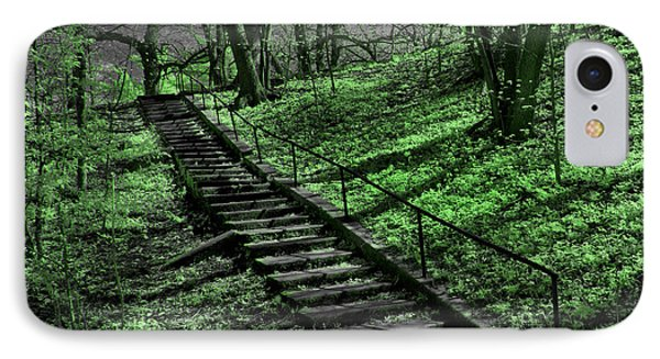 City Park Stairs IPhone Case
