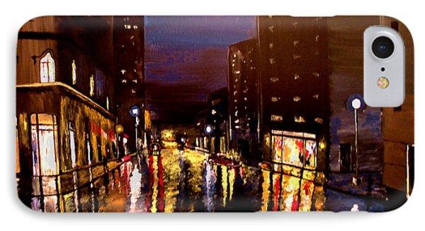 City Rain Phone Case by Mark Moore