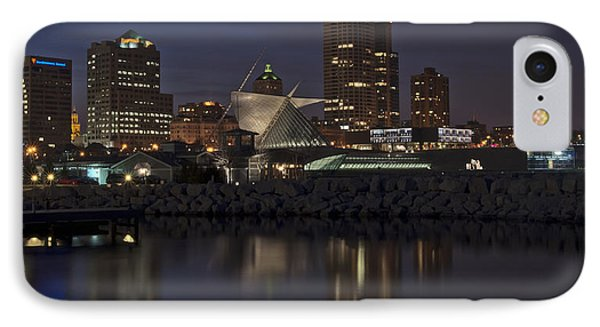IPhone Case featuring the photograph City Reflection by Deborah Klubertanz