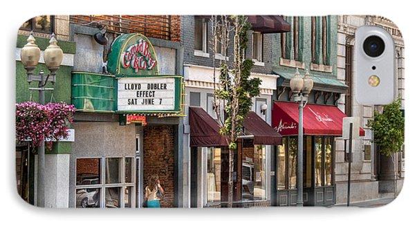 City - Roanoke Va - Down One Fine Street  Phone Case by Mike Savad