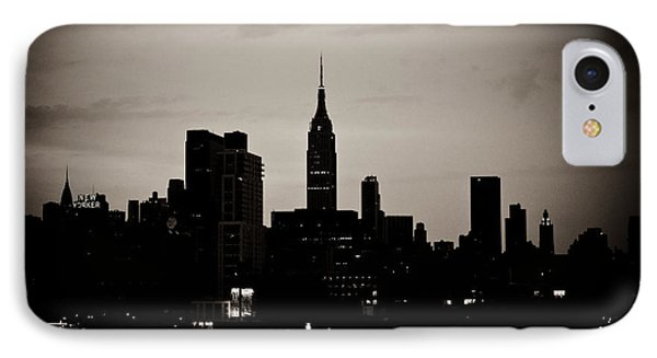 City Silhouette IPhone Case by Sara Frank