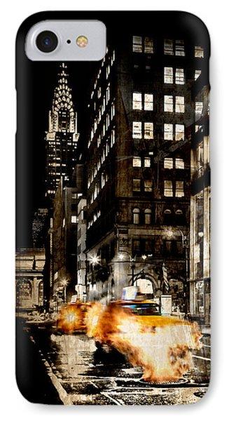 City Streets  IPhone Case by Az Jackson
