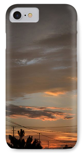 IPhone Case featuring the photograph City Sunset 2  by Lyle Crump