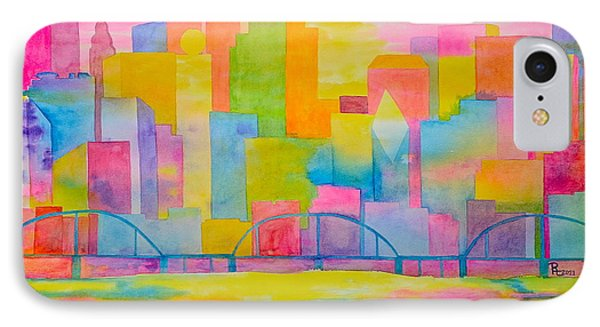 City To Dye For Phone Case by Rhonda Leonard