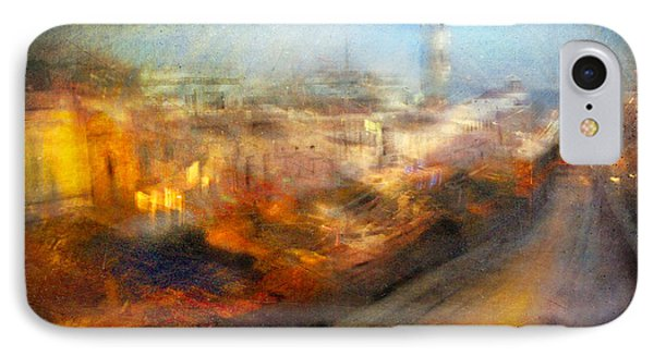IPhone Case featuring the photograph Cityscape #17 - Redpolis by Alfredo Gonzalez