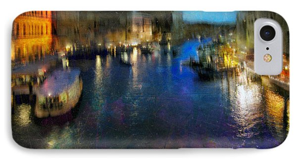 IPhone Case featuring the photograph Cityscape #19. Venetian Night by Alfredo Gonzalez