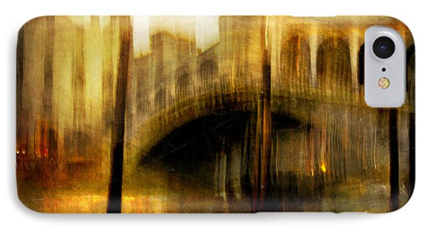 IPhone Case featuring the photograph Cityscape #22. Venetian Bridge by Alfredo Gonzalez