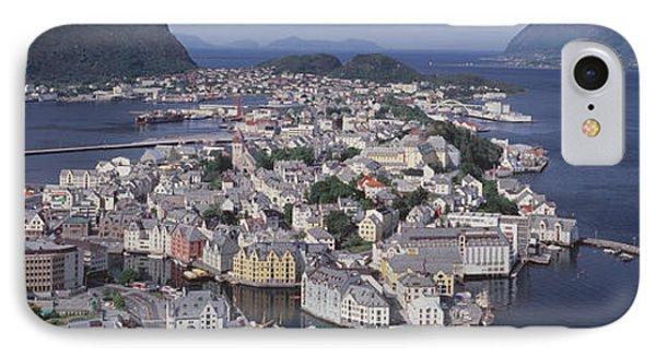 Cityscape Alesund Norway IPhone Case