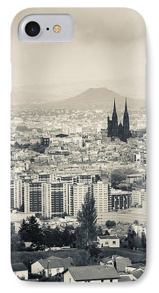 Cityscape With Cathedrale IPhone Case by Panoramic Images