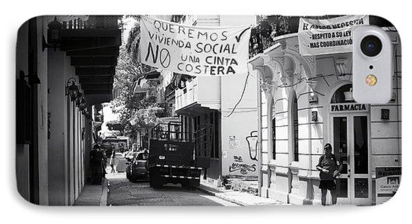Ciudad Vieja Calle Phone Case by John Rizzuto