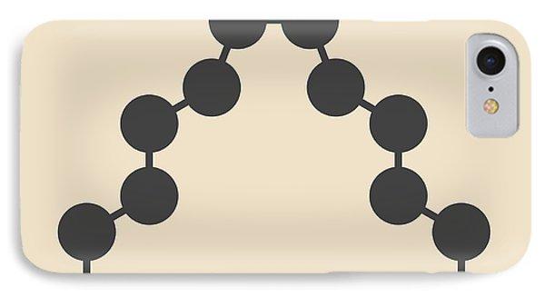 Civetone Civet Cat Pheromone Molecule IPhone Case by Molekuul
