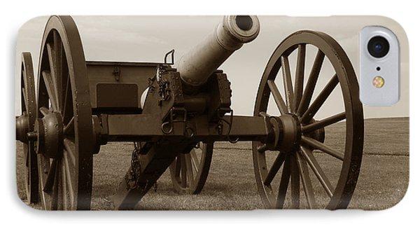 Civil War Cannon IPhone Case by Olivier Le Queinec