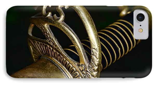 Civil War - Confederate Officer Sword - Weapon Phone Case by Paul Ward