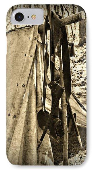 Civil War  Duty Belt Phone Case by Paul Ward