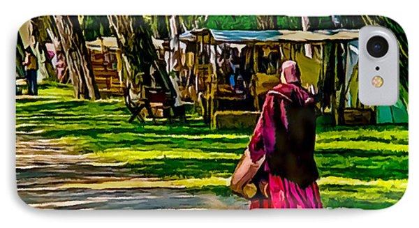 Civil War Encampment  IPhone Case by Bob and Nadine Johnston