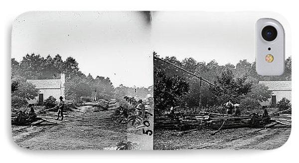 Civil War Field Hospital IPhone Case by Granger