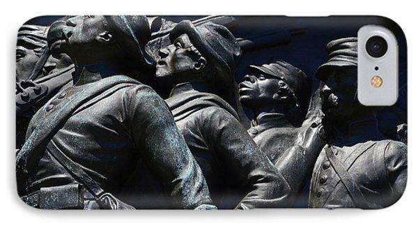 Civil War Figures IPhone Case