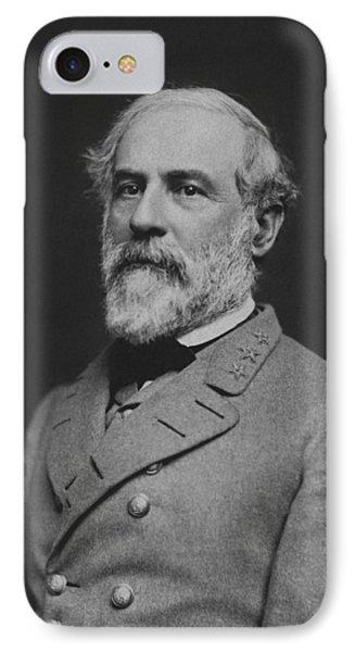 Civil War General Robert E Lee Phone Case by War Is Hell Store