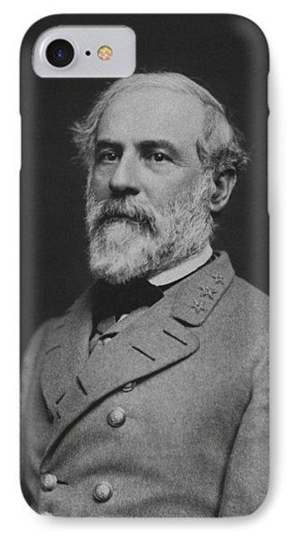 Civil War General Robert E Lee IPhone Case
