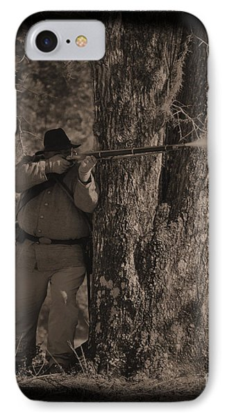 Civil War Re Enactment 4 IPhone Case by Jocelyn Stephenson