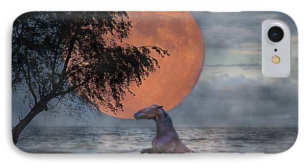 Claiming The Moon IPhone Case