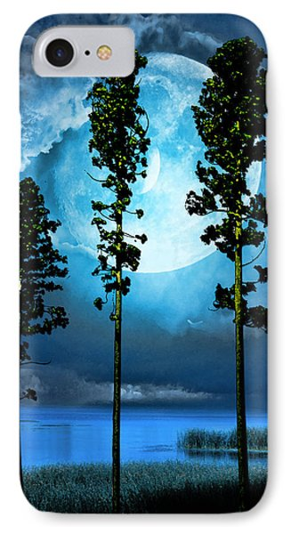 Clair De Lune IPhone Case by Tyler Robbins