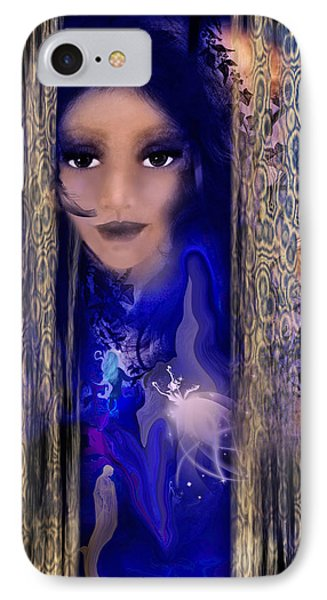 Clairvoyant Seven IPhone Case by Patricia Motley