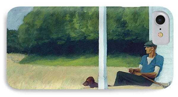 Clamdigger IPhone Case by Edward Hopper