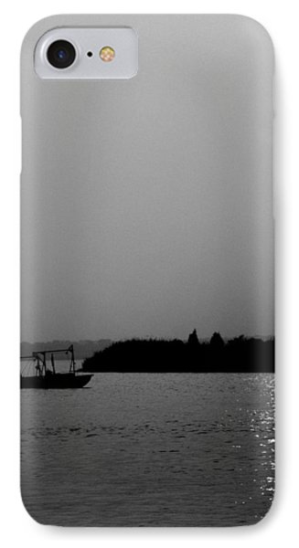 Clammers Sunrise IPhone Case by Skip Willits