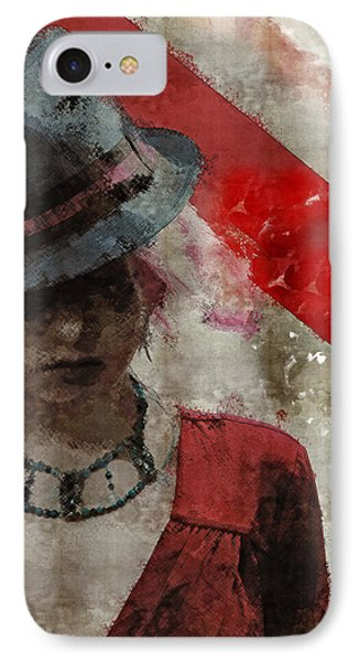 IPhone Case featuring the digital art Clandestine by Galen Valle