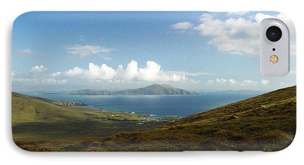 Clare Island Connemara Ireland IPhone Case by Butch Lombardi