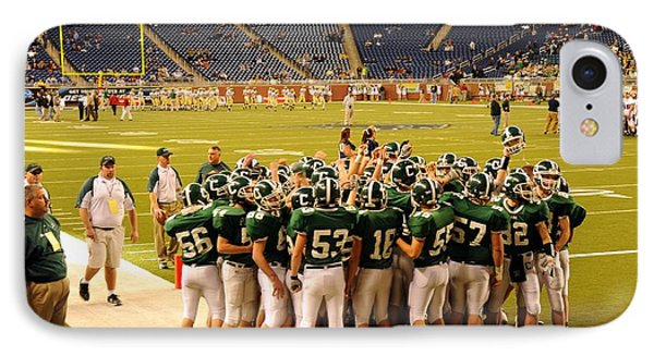 Clare Pioneers At Ford Field IPhone Case by Terri Gostola