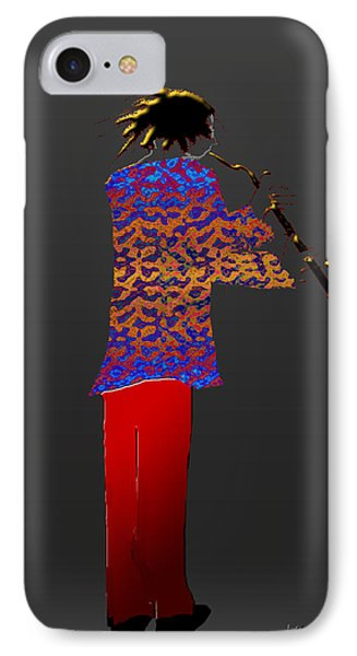 Clarinet IPhone Case by Asok Mukhopadhyay
