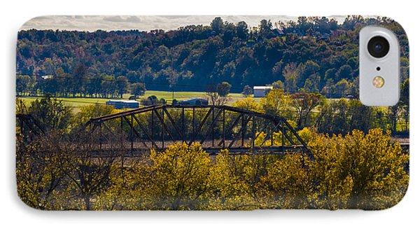 Clarksville Railroad Bridge IPhone Case