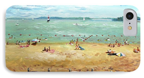 Carlyle Lake Beach In Il IPhone Case by Ping Yan