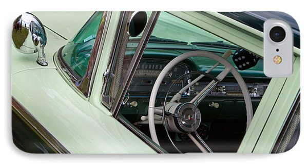 Classic Automobile Interior IPhone Case by Mick Flynn