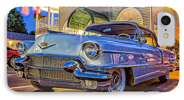 Classic Blue Caddy At Night Phone Case by Edward Fielding