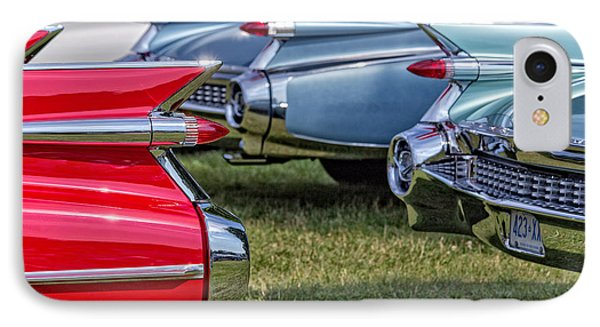 Classic Caddy Fin Party Phone Case by Edward Fielding