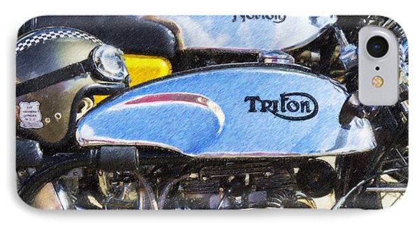 Classic Cafe Racers IPhone Case by Tim Gainey
