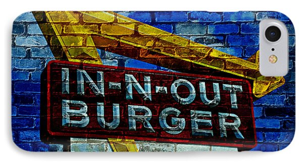 Classic Cali Burger 2.4 IPhone Case by Stephen Stookey