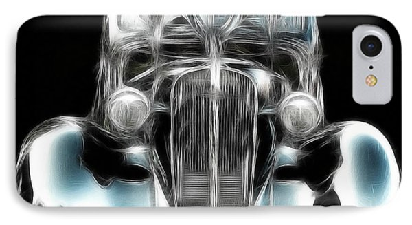 IPhone Case featuring the photograph Classic Car Abstract by JRP Photography