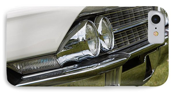 Classic Car Front Wing And Lights IPhone Case by Mick Flynn