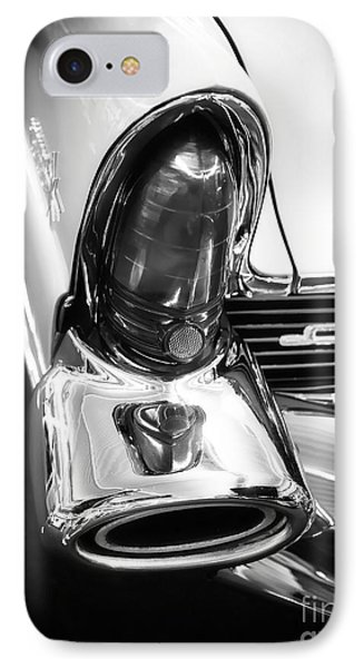 Classic Car Tail Fin Phone Case by Edward Fielding
