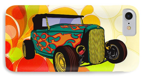 Classic Cars 09 IPhone Case by Bedros Awak