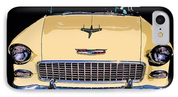 Classic Chevy Pop Art Phone Case by Edward Fielding