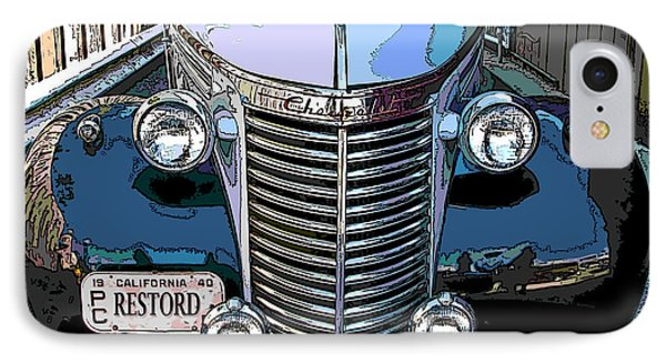 IPhone Case featuring the photograph Classic Chevy Pickup 1 by Samuel Sheats