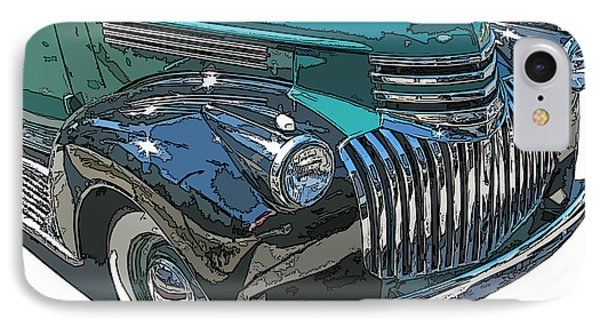 IPhone Case featuring the photograph Classic Chevy Pickup 2 by Samuel Sheats