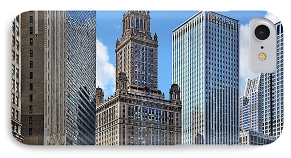 Classic Chicago -  The Jewelers Building Phone Case by Christine Till