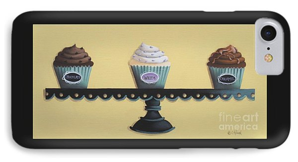 Classic Cupcakes Phone Case by Catherine Holman
