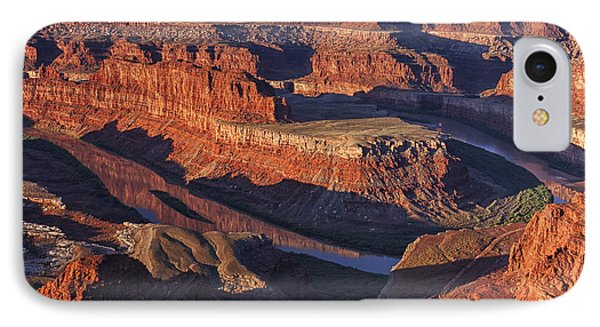 Classic Dead Horse Point Sunrise IPhone Case by Mark Kiver